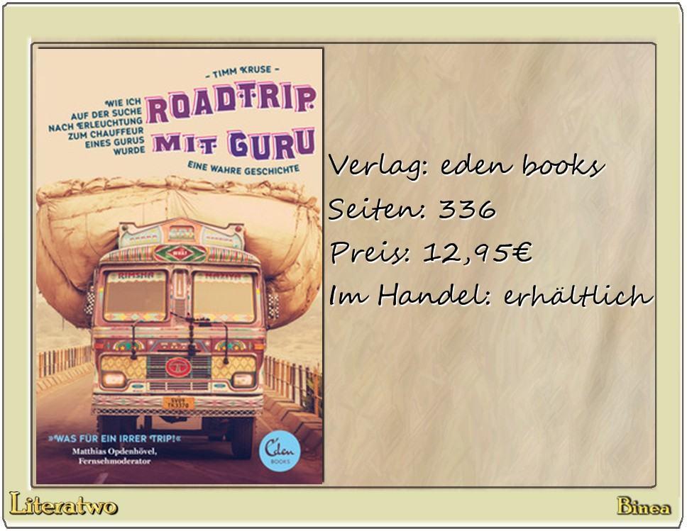 Literatwo: Roadtrip mit Guru ~ Timm Kruse