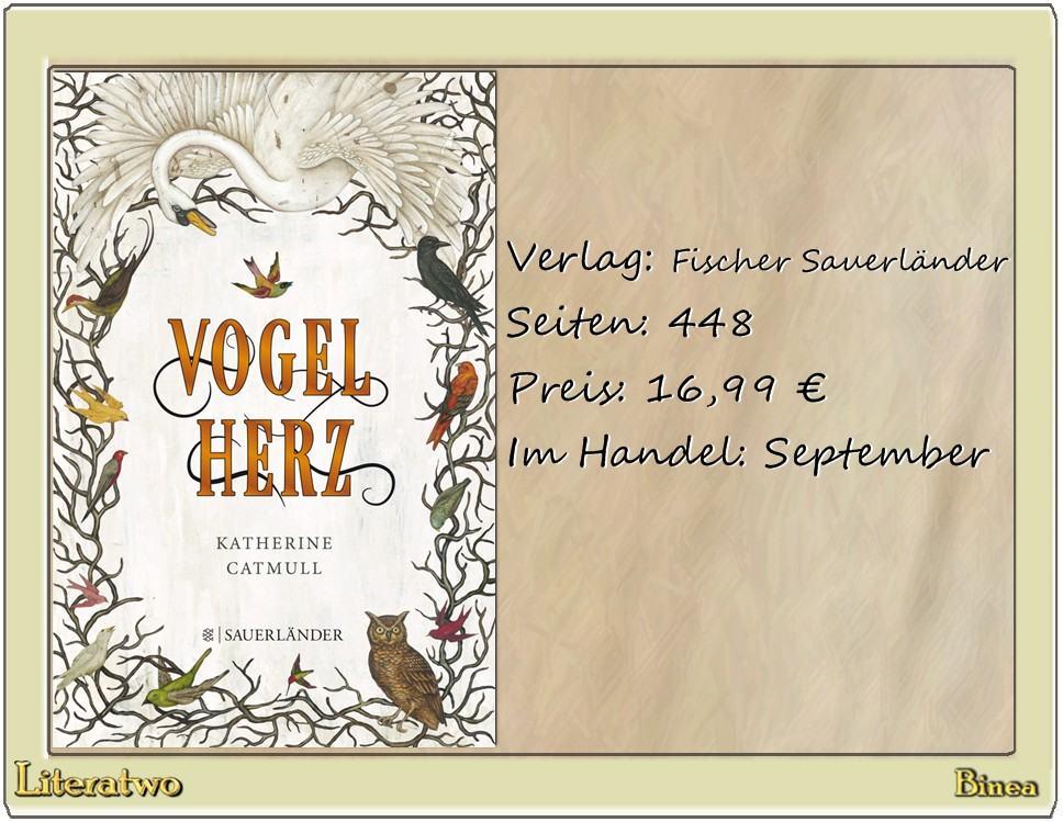 Literatwo: Vogelherz ~ Katherine Catmull
