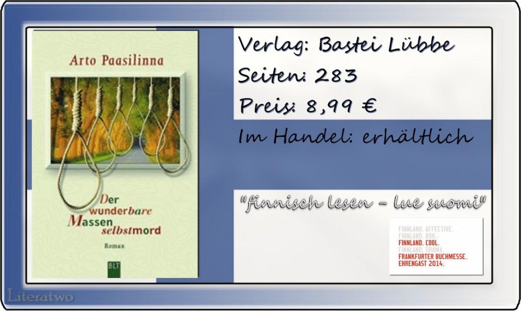 Literatwo: Massenselbstmord ~ Arto Paasilinna
