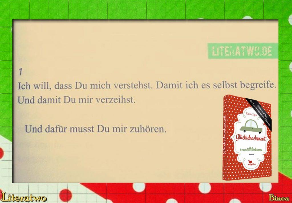 Literatwo: Glücksdrachenzeit ~ Katrin Zipse