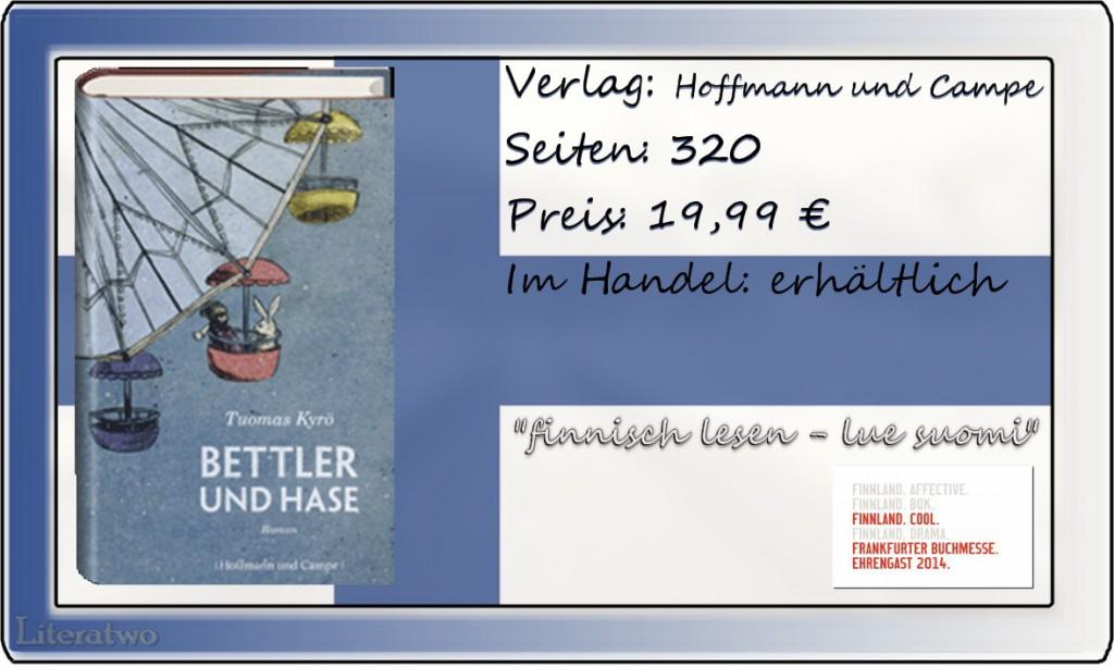 Literatwo: Bettler und Hase ~ Tuomas Kyrö