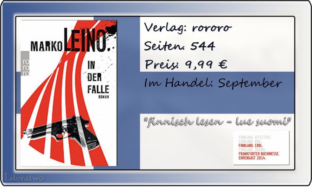 Literatwo: In der Falle ~ Marko Leino