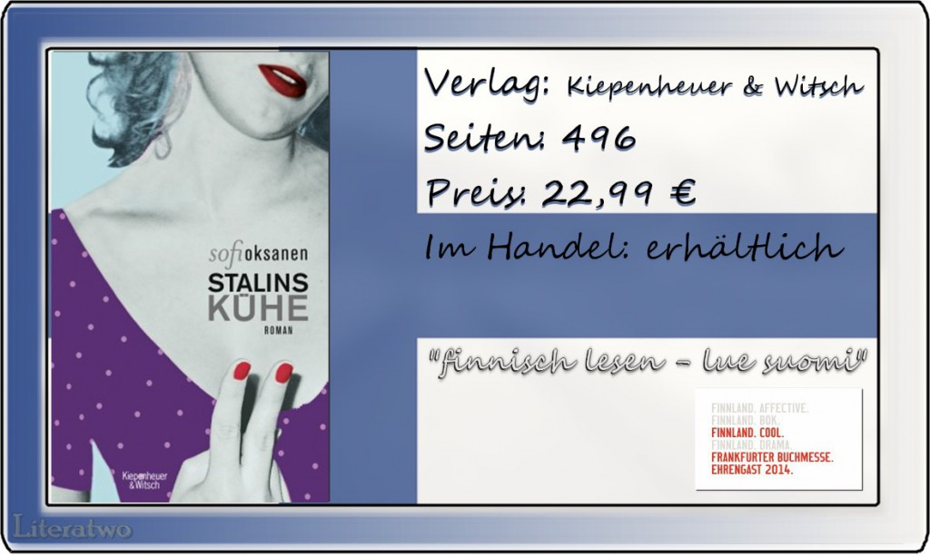 Literatwo: Stalins Kühe ~ Sofi Oksanen
