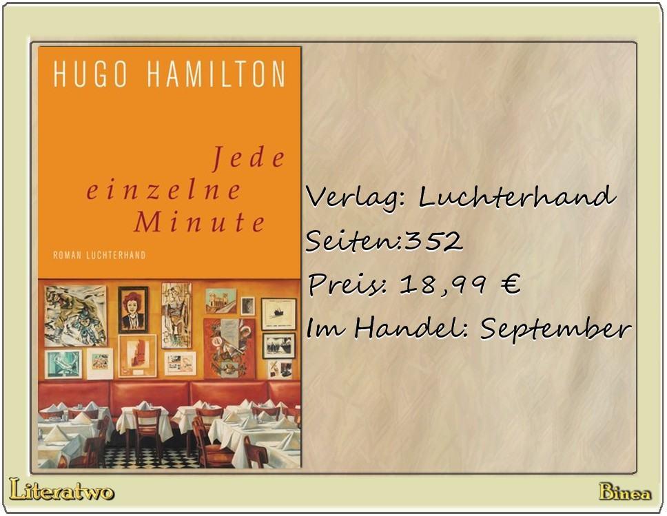 Literatwo: Jede einzelne Minute ~ Hugo Hamilton