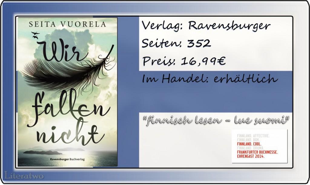 """Literatwo: """"Wir fallen nicht"""" ~ Seite Vuorela"""