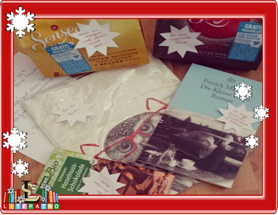 LovelyBooks Weihnachtswichteln - Bineas Geschenke