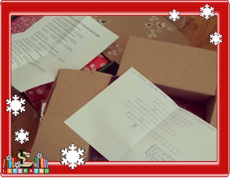 LovelyBooks Weihnachtswichteln - wir rätseln...