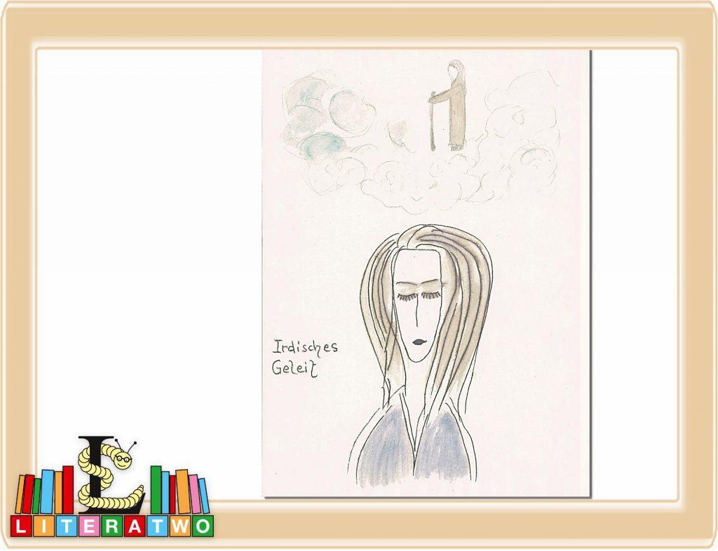 Irdisches Geleit (Zeichnung: Clara Luisa Demar)