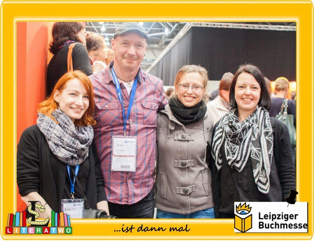 Buchmesse Leipzig 2015 - Bloggerfreunde