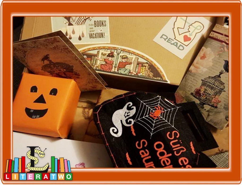 Halloween - Blick in Lesebienchens Paket