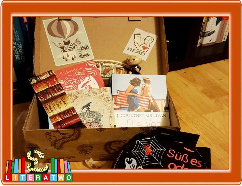 Halloween - Lesebienchens Buchpäckchen