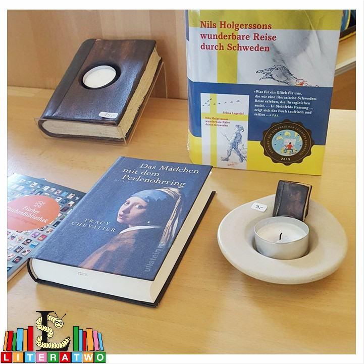 Buchhandlung Findus ~ Buchkeramik