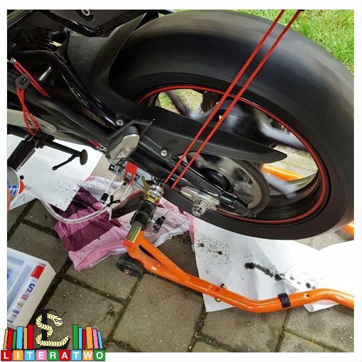 Kawasaki ER-6n - Kette reinigen